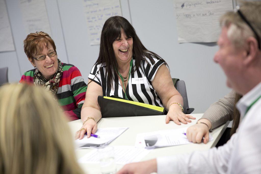 Workshop participants group. © Jess Hurd/reportdigital.co.uk